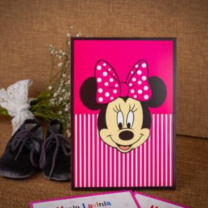 Invitatie botez Minnie Mouse